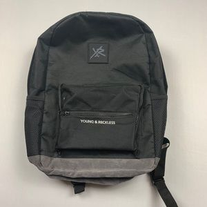 Young and reckless backpack
